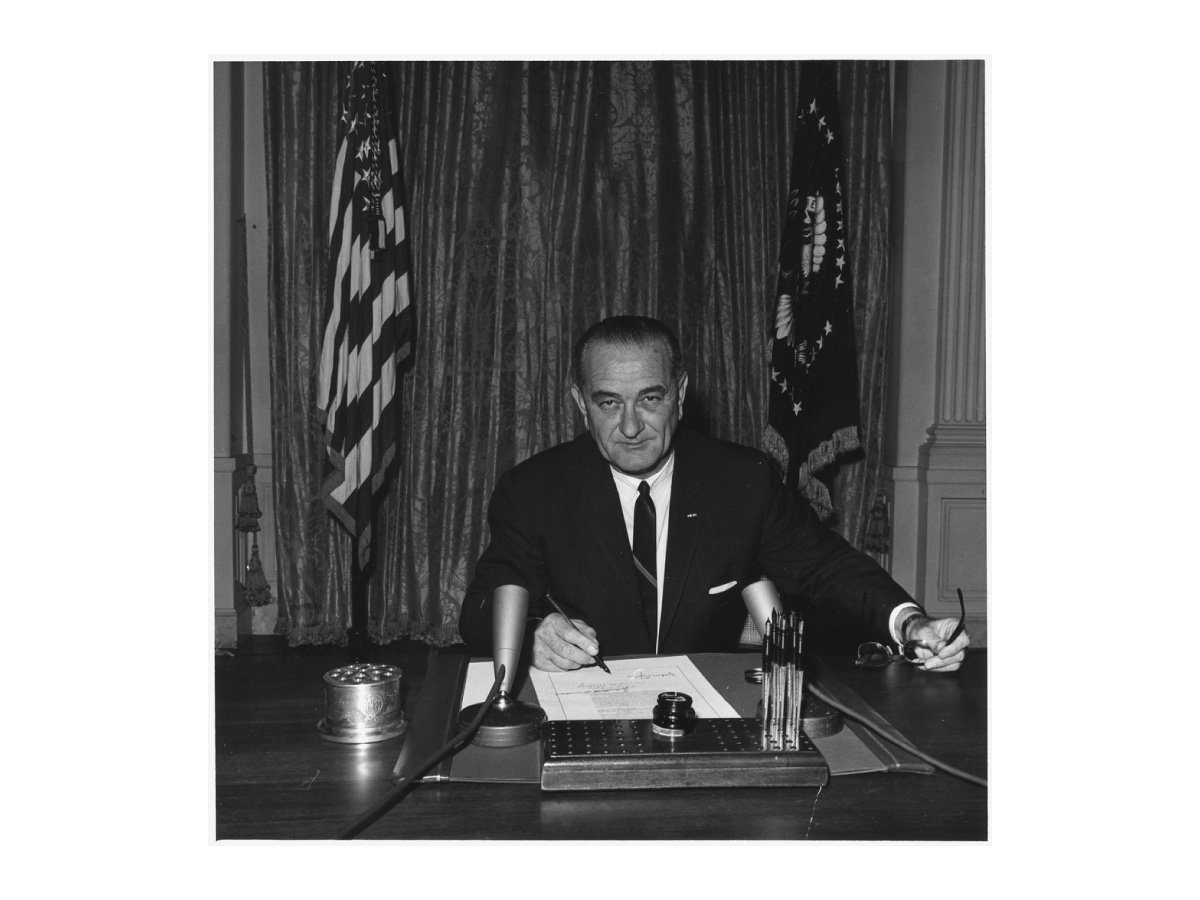 Golf of Tonkin President Johnson