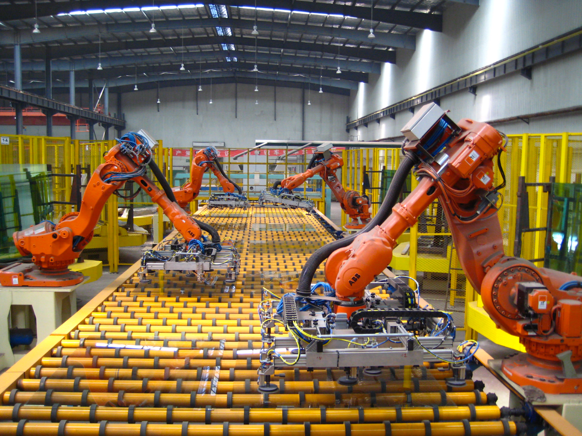 Robotic assembly line