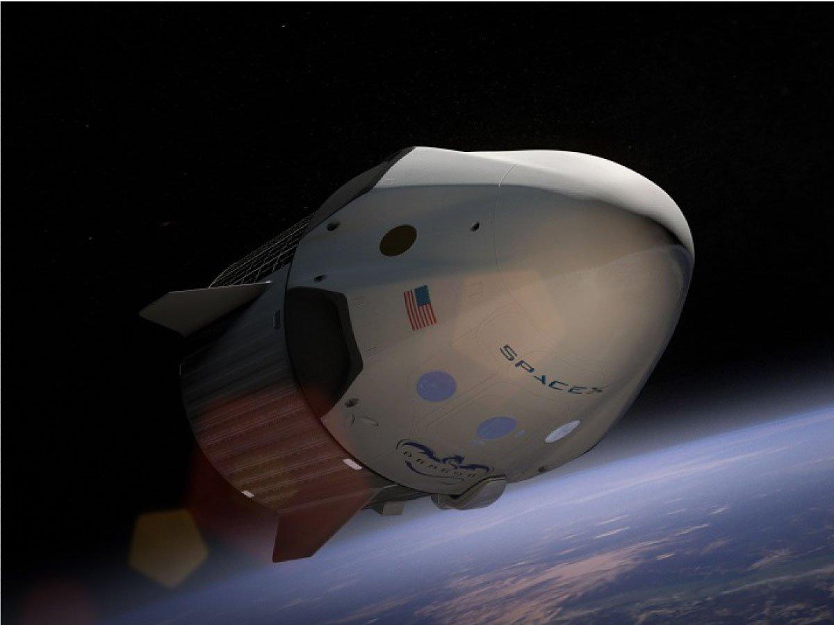 space x capsule