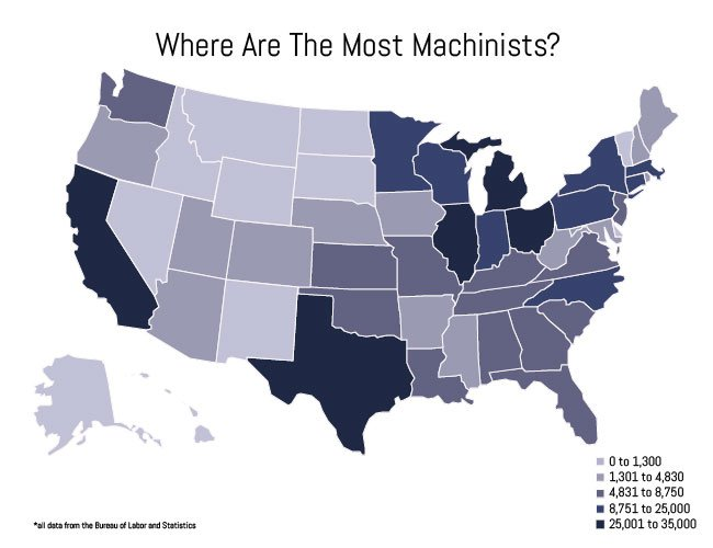 Where Are Machinists